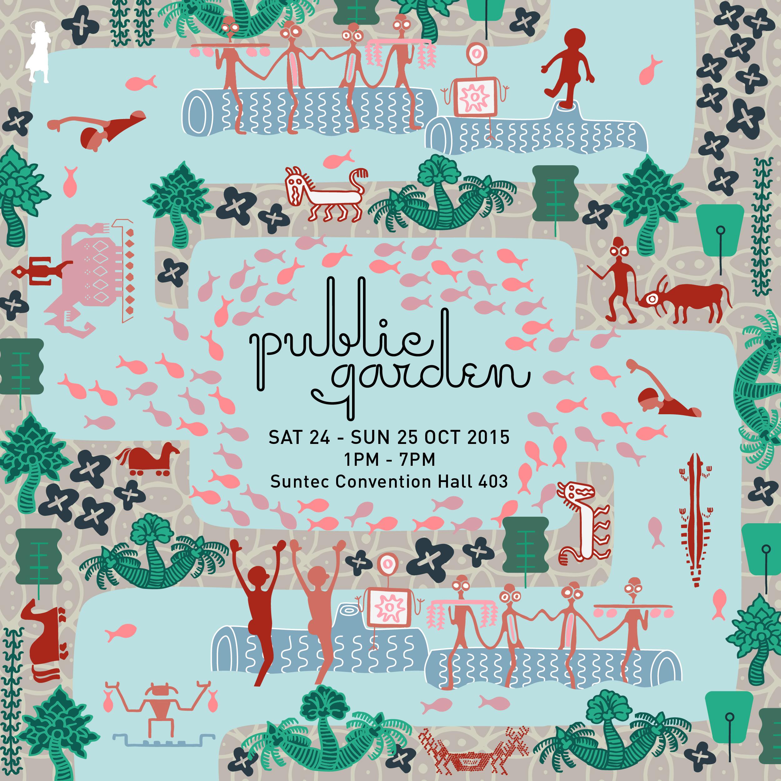Public Garden Sat 24 - Sun 25 Oct 2015 Instagram Banner